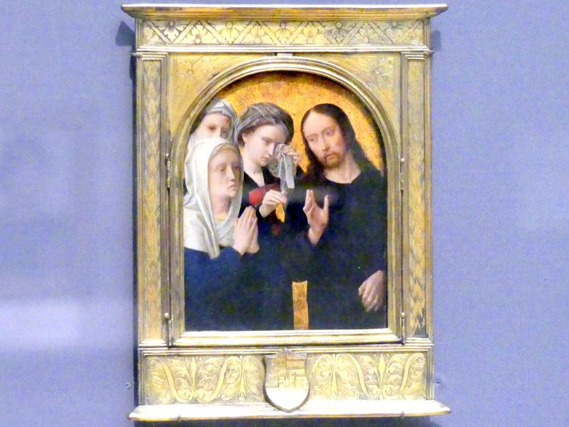 Gerard David: Christus nimmt Abschied von seiner Mutter, um 1500