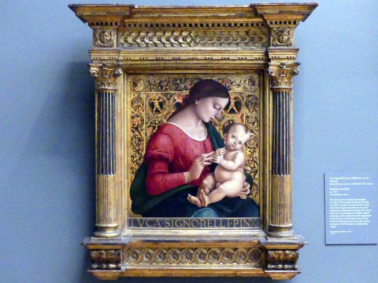 Luca Signorelli: Maria mit Kind, um 1505 - 1507