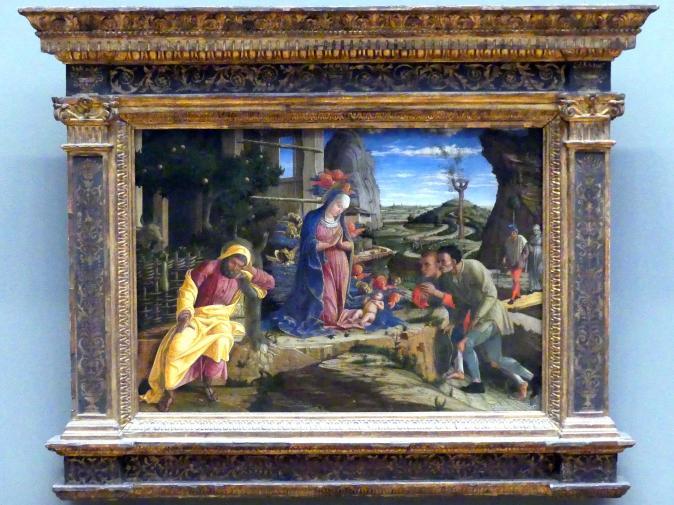 Andrea Mantegna: Anbetung der Hirten, nach 1450