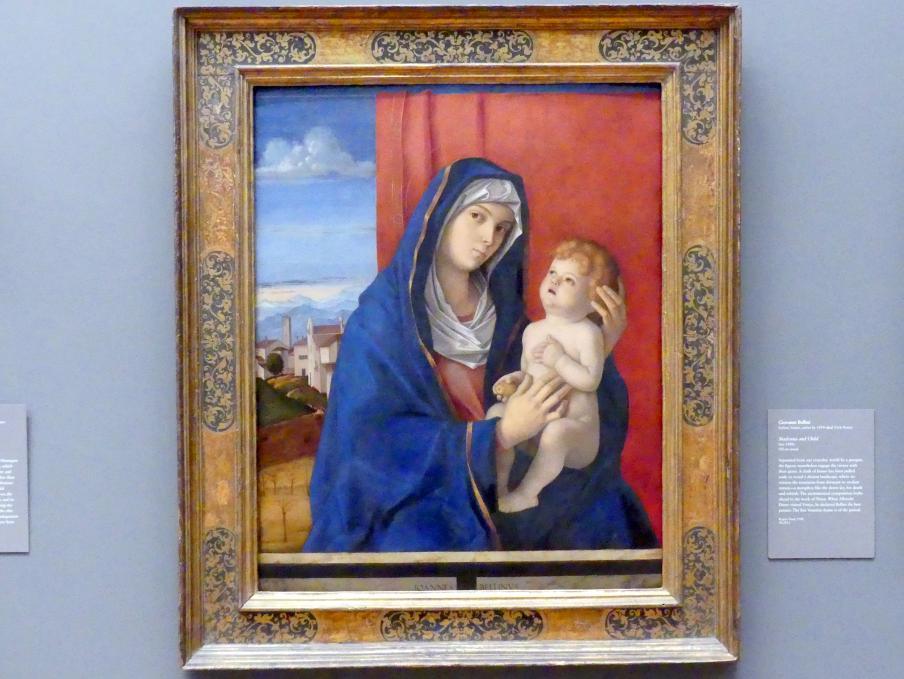 Giovanni Bellini: Maria mit Kind, um 1485 - 1490