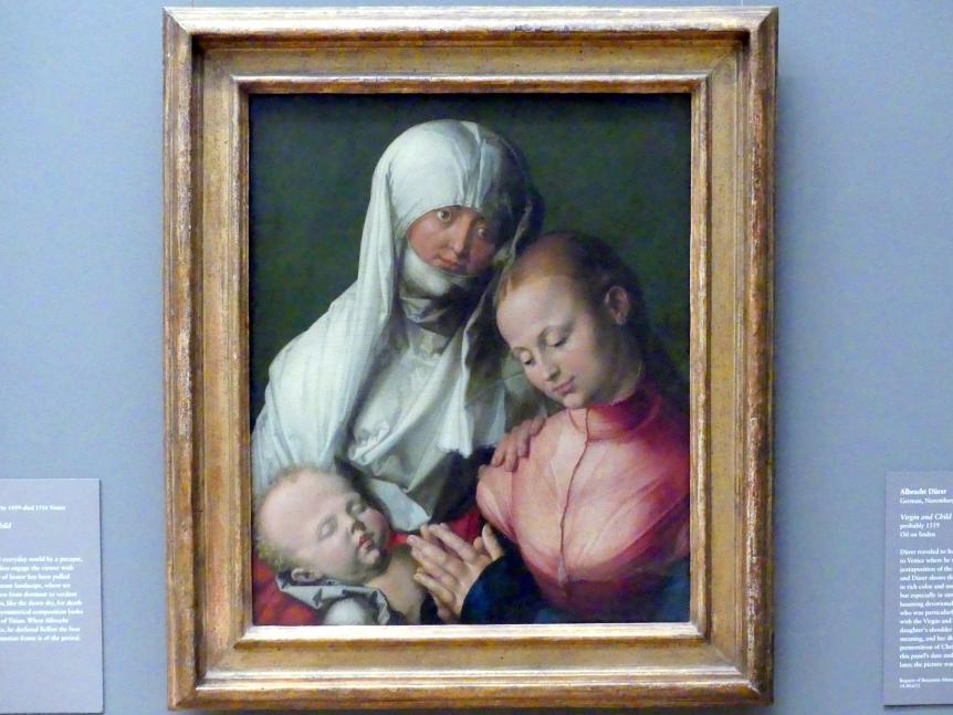 Albrecht Dürer: Heilige Anna Selbdritt, um 1519