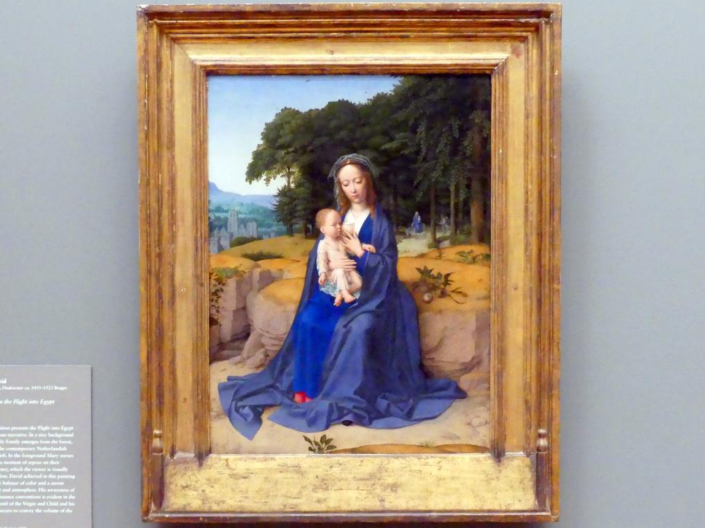 Gerard David: Ruhe auf der Flucht, um 1512 - 1515