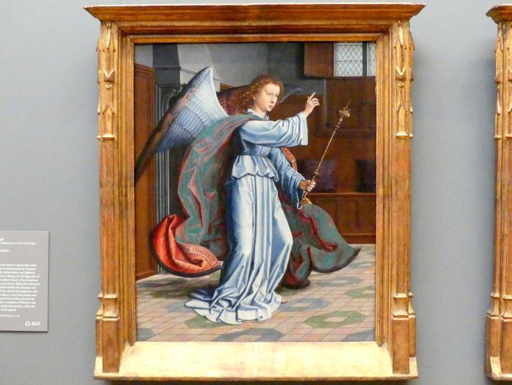 Gerard David: Mariä Verkündigung, 1506