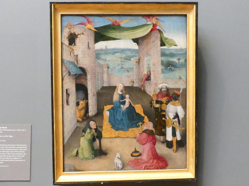 Hieronymus Bosch: Anbetung der Könige, um 1475
