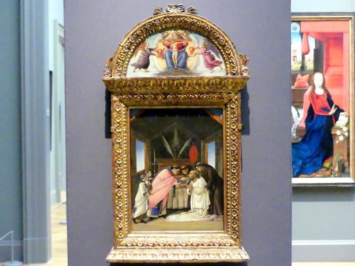 Sandro Botticelli: Die letzte Kommunion des heiligen Hieronymus, um 1490 - 1495