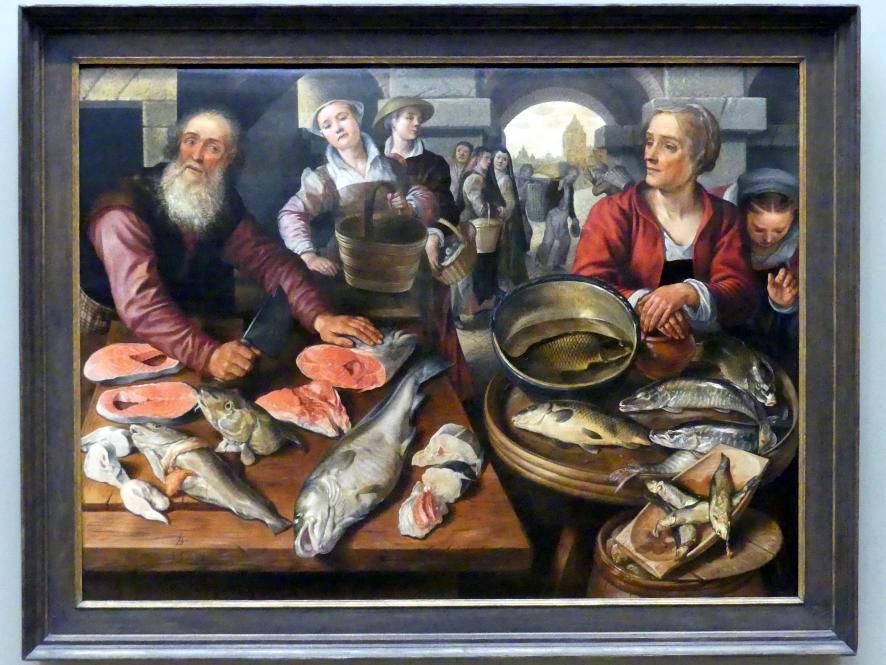 Joachim Beuckelaer: Fischmarkt, 1568
