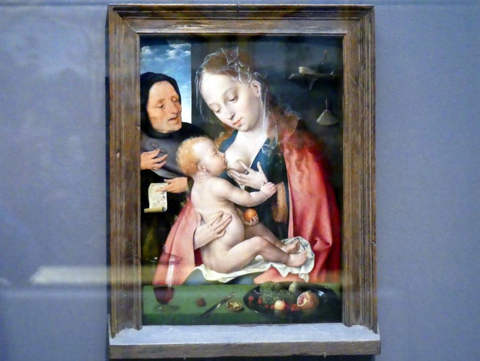 Joos van Cleve (Joos van der Beke): Heilige Familie, um 1512 - 1513