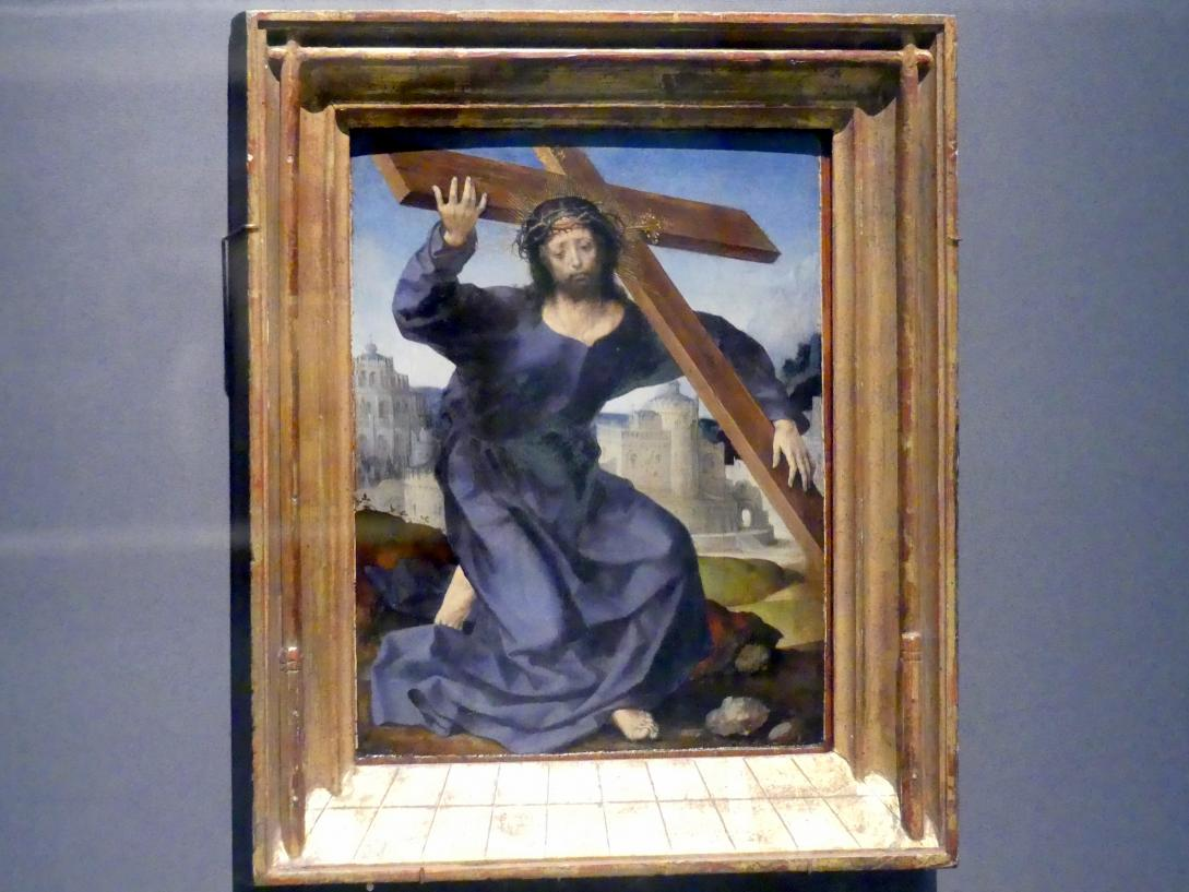 Jan Gossaert (Mabuse): Christus trägt das Kreuz, um 1520 - 1525