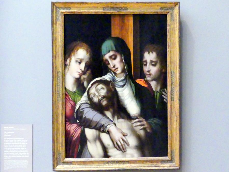 Luis de Morales: Beweinung Christi, um 1560