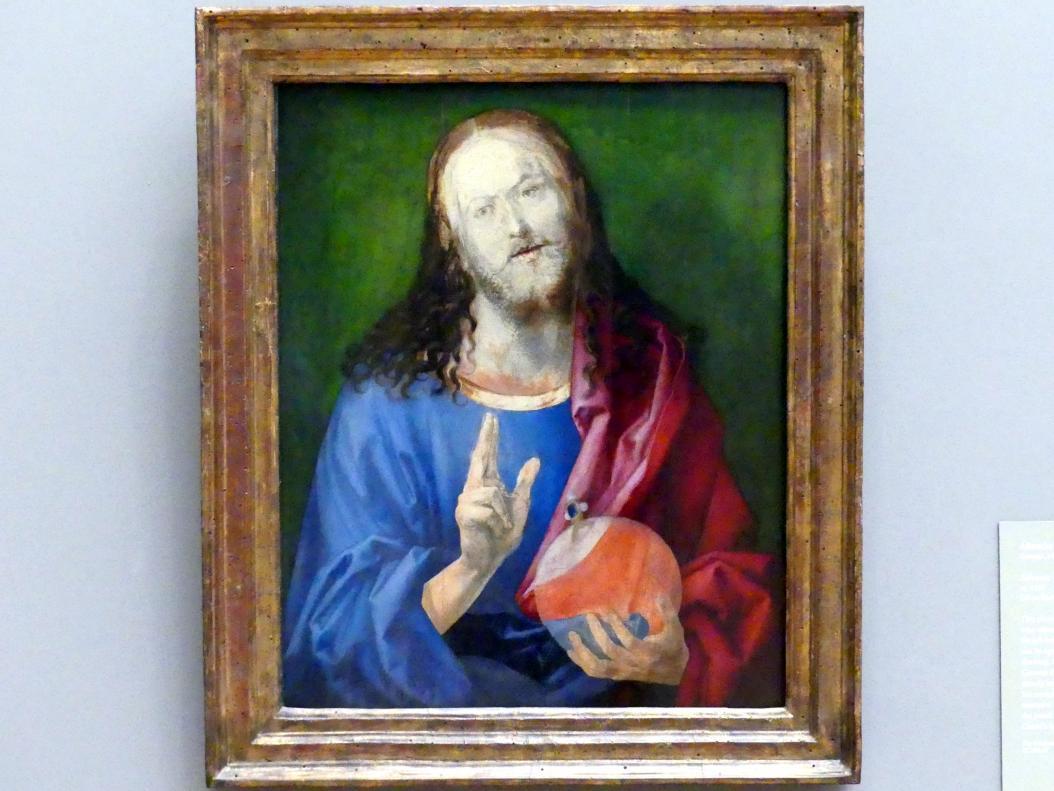 Albrecht Dürer: Salvator Mundi, um 1505