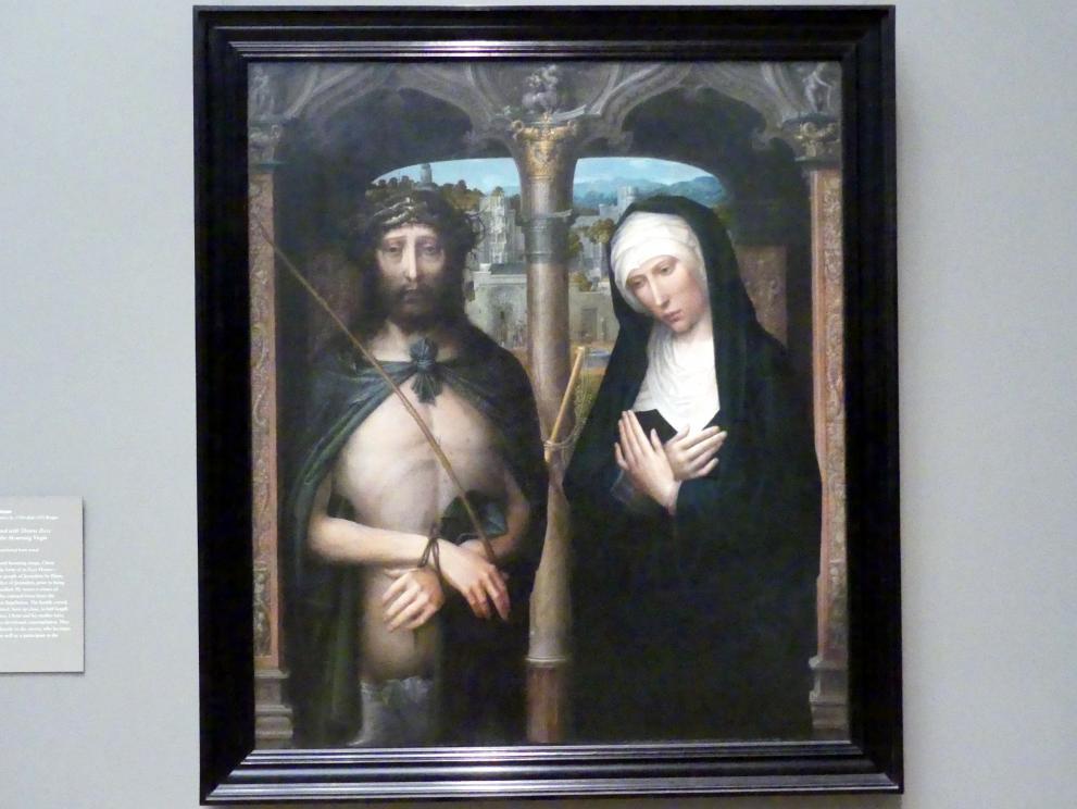 Adriaen Isenbrant: Christus als Schmerzensmann und schmerzhafte Muttergottes, um 1530 - 1540