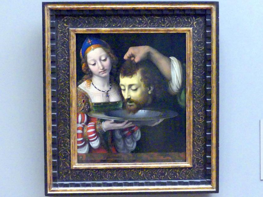 Andrea Solari: Salome mit dem Haupt Johannes des Täufers, um 1507 - 1509