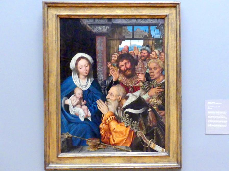 Quinten Massys: Anbetung der Könige, 1526