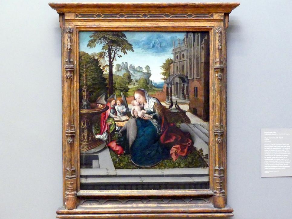 Bernard van Orley: Maria und Kind mit Engeln, um 1518