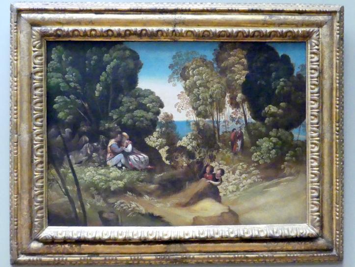 Giovanni Luteri (Dosso Dossi): Allegorie der drei Lebensalter des Menschen, Undatiert