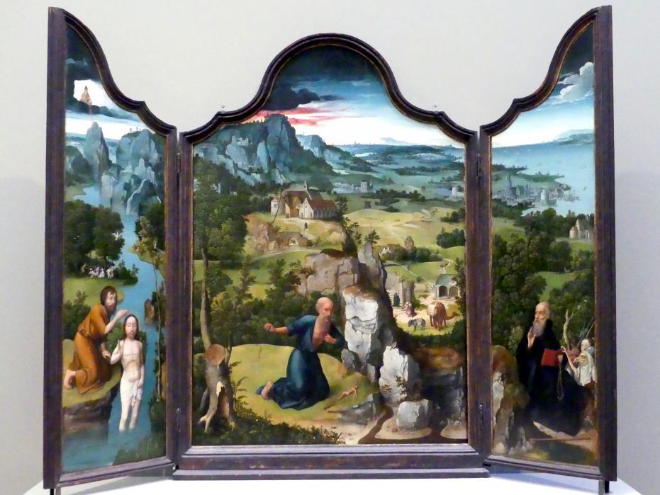 Joachim Patinir (Patenier): Der Heilige Hieronymus als Büßer, um 1512 - 1515
