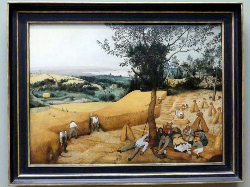 Pieter Brueghel der Ältere (Bauernbrueghel): Die Erntearbeiter, 1565