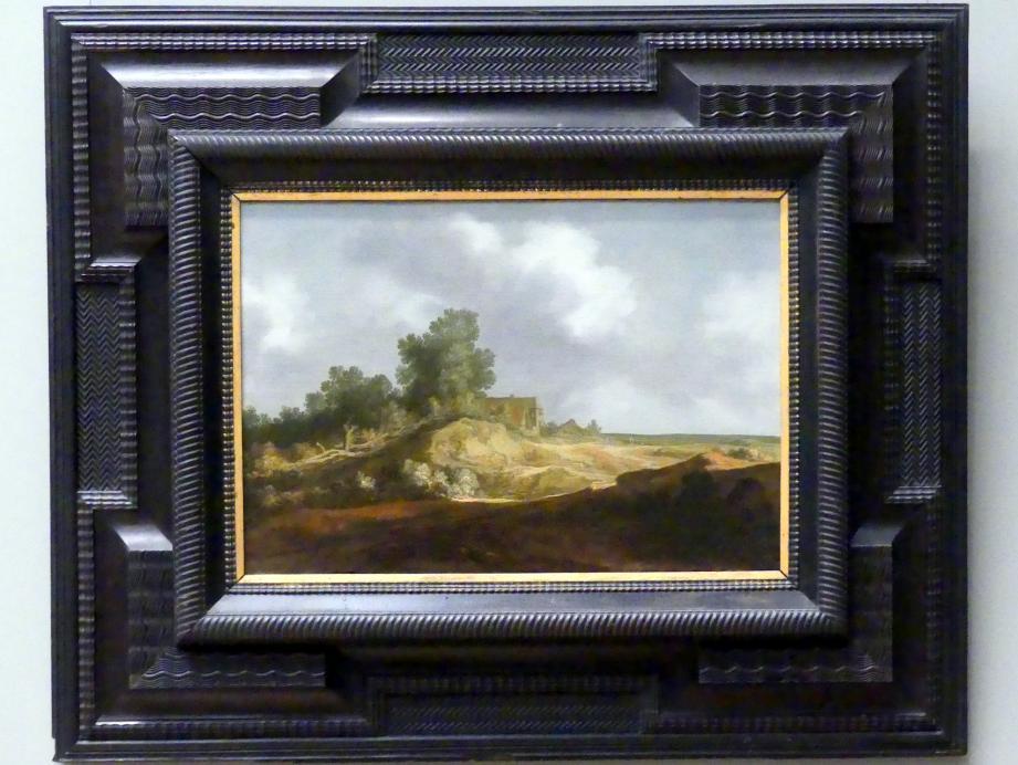 Pieter de Molijn: Landschaft mit Hütte, 1629