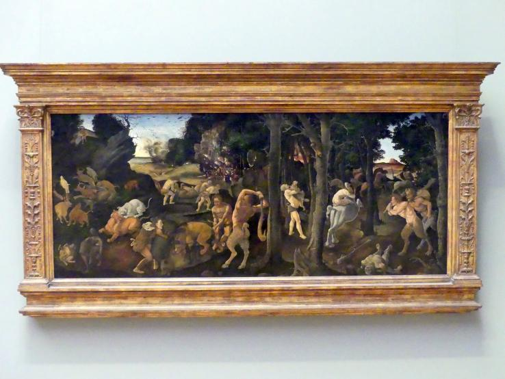 Piero di Cosimo: Jagdszene, um 1494 - 1500
