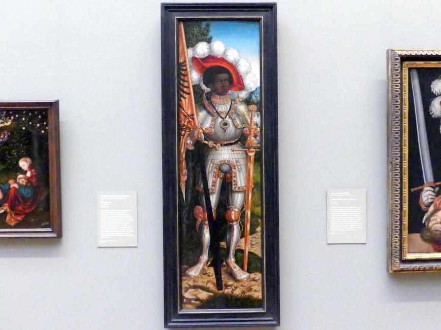 Lucas Cranach der Ältere: Heiliger Mauritius, um 1520 - 1525