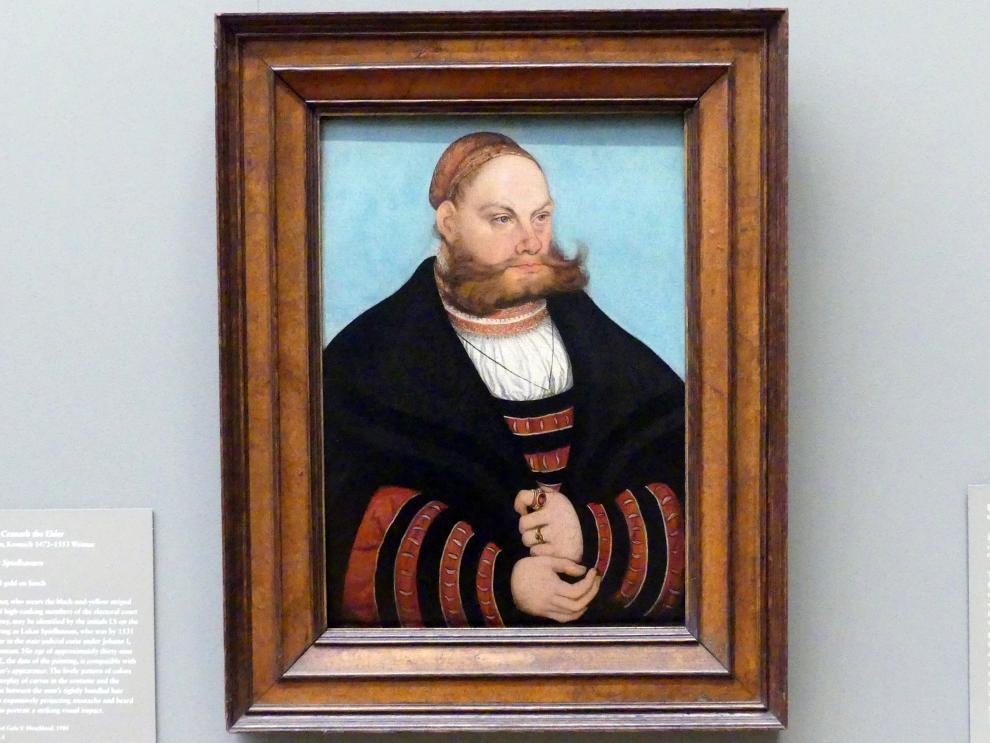 Lucas Cranach der Ältere: Lukas Spielhausen, 1532