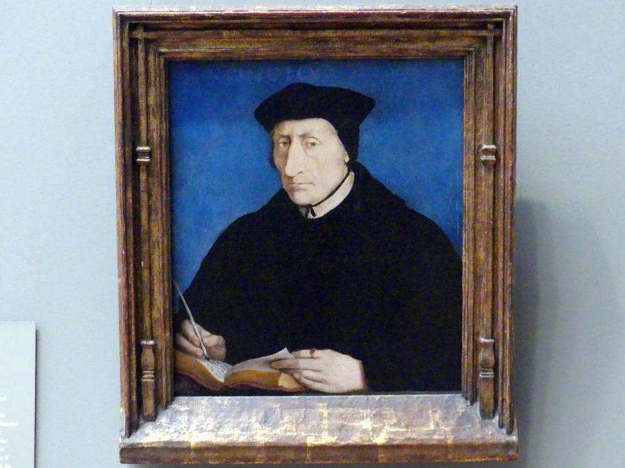 Jean Clouet: Guillaume Budé (1467-1540), um 1536