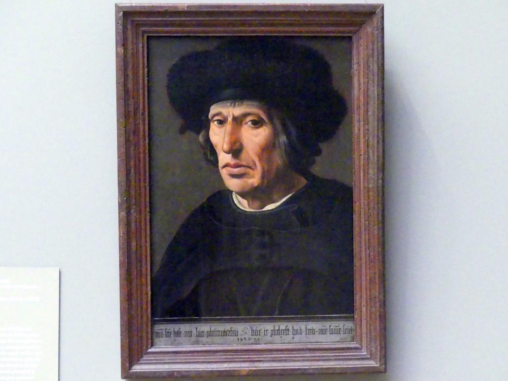 Maarten van Heemskerck: Jacob Willemsz. van Veen (1456–1535), Vater des Künstlers, 1532
