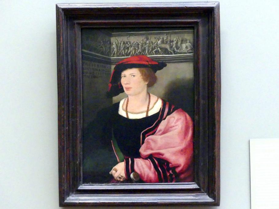 Hans Holbein der Jüngere: Benedikt von Hertenstein (geb. um 1495, gest. 1522), 1517