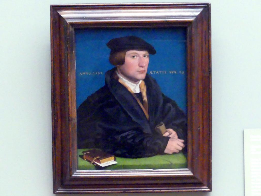 Hans Holbein der Jüngere: Hermann von Wedigh III (gest. 1560), 1532