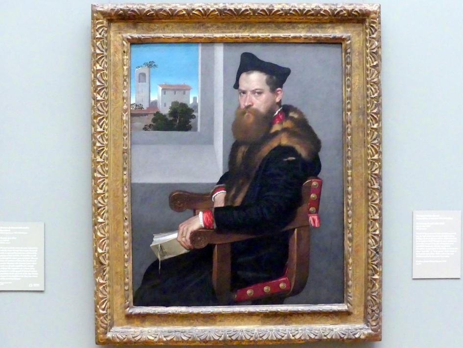 Giovanni Battista Moroni: Bartolomeo Bonghi (gest. 1584), nach 1553