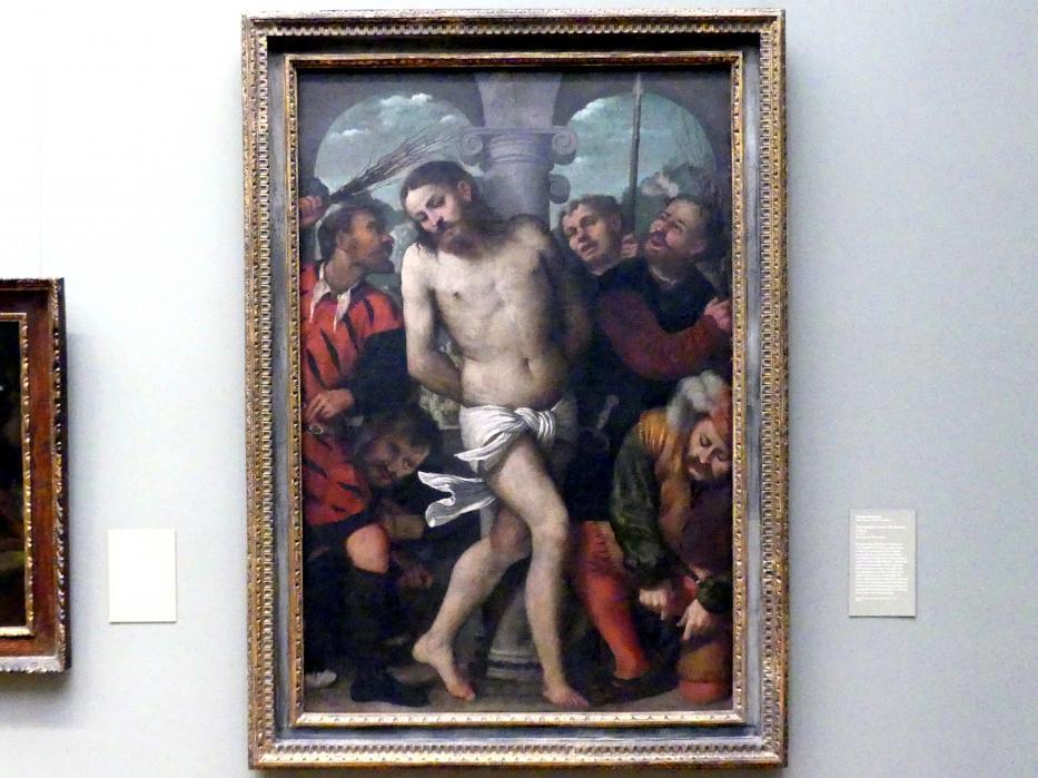 Girolamo Romanino: Geißelung Christi, um 1540