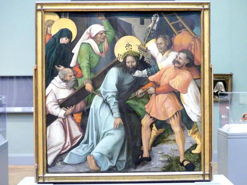 Hans Schäufelein: Kreuztragung Christi, um 1510