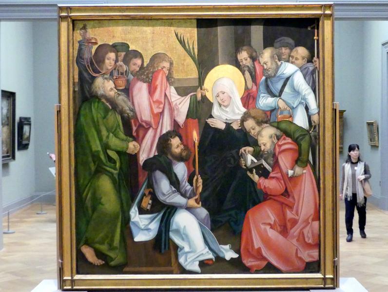 Hans Schäufelein: Mariä Himmelfahrt, um 1510