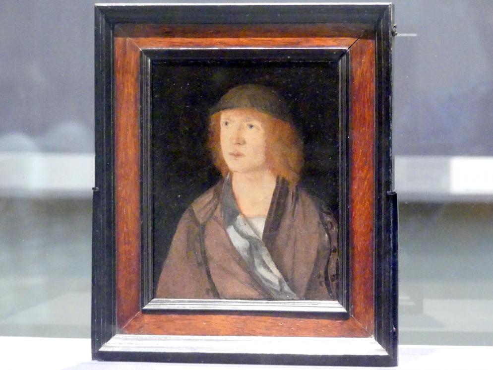 Hans Süß von Kulmbach: Bildnis eines jungen Mannes, um 1508
