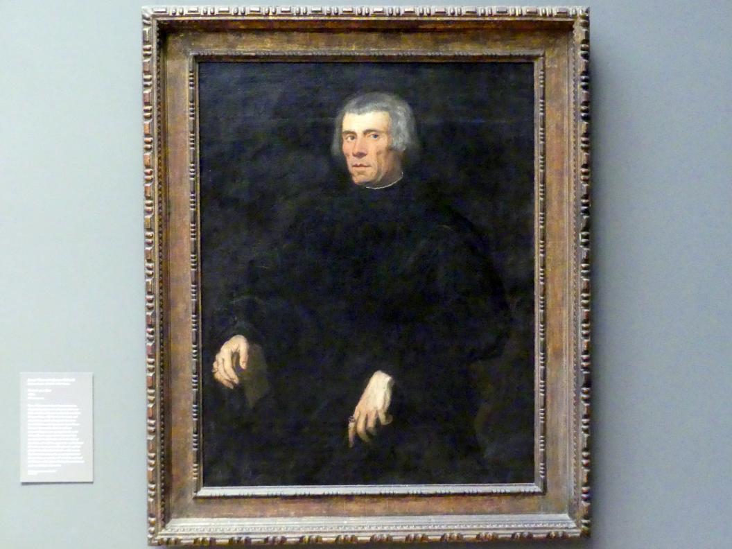 Tintoretto (Jacopo Robusti): Bildnis eines Mannes, um 1550 - 1560