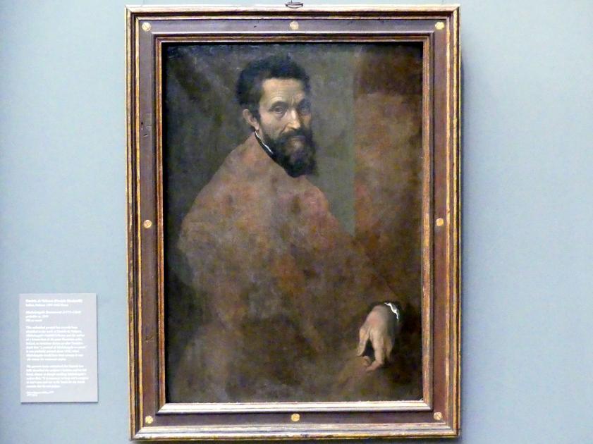 Daniele da Volterra: Michelangelo Buonarroti (1475-1564), um 1544