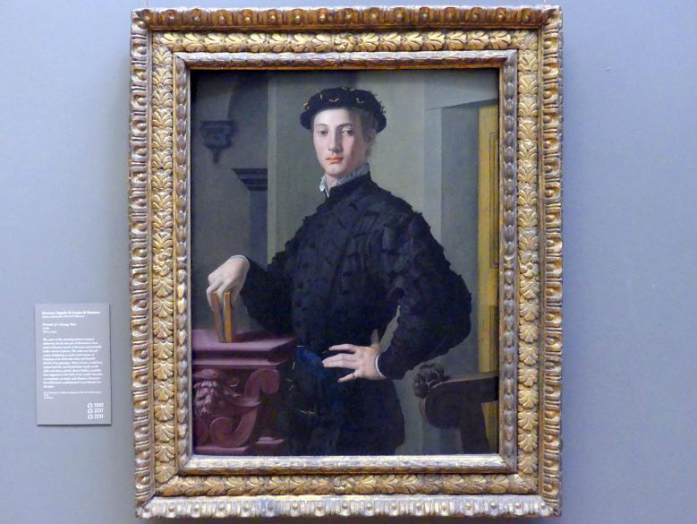 Agnolo di Cosimo di Mariano (Bronzino): Bildnis eines jungen Mannes, um 1530 - 1540