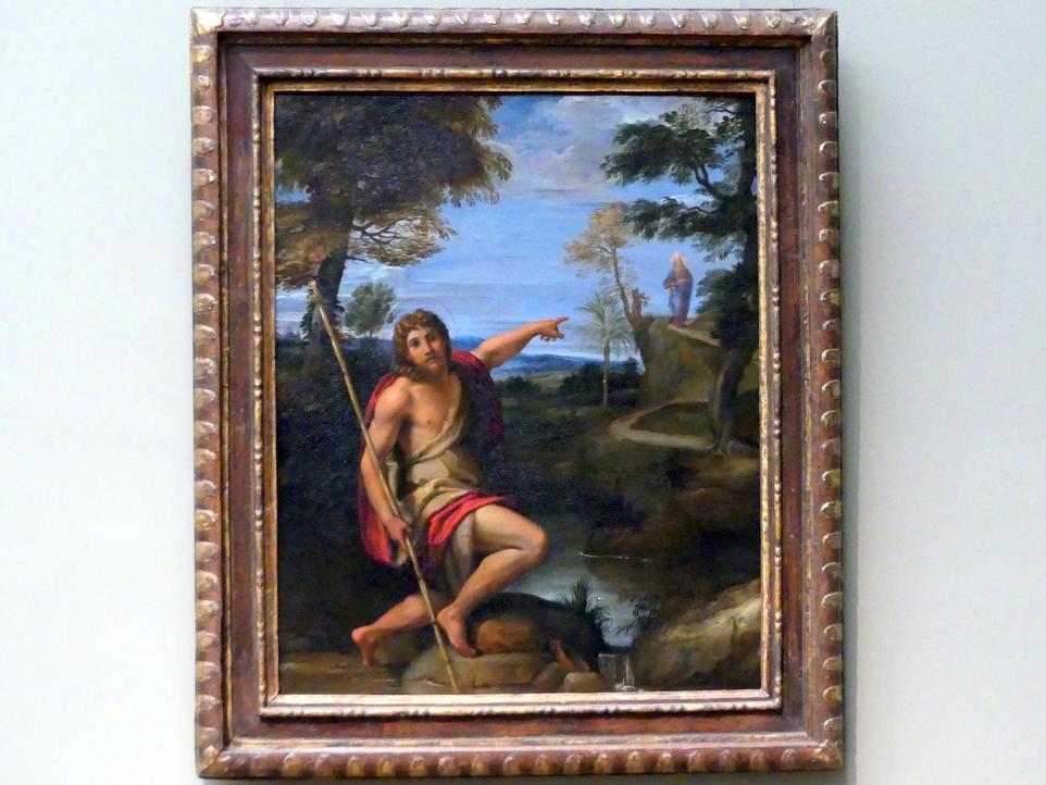 Annibale Carracci: Johannes der Täufer predigt in der Wüste, um 1600