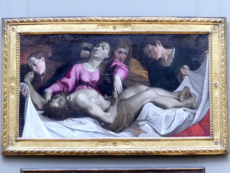 Ludovico Carracci: Beweinung Christi, um 1582