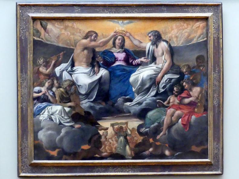 Annibale Carracci: Krönung Mariens, nach 1595