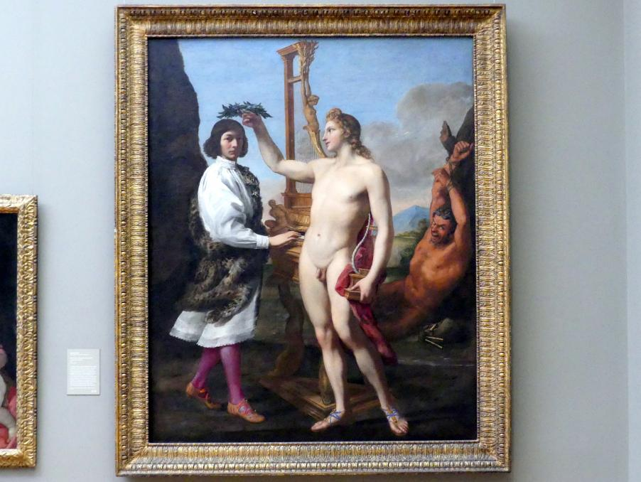 Andrea Sacchi: Krönung des Marc'Antonio Pasqualini (1614-1691) durch Apoll, 1641