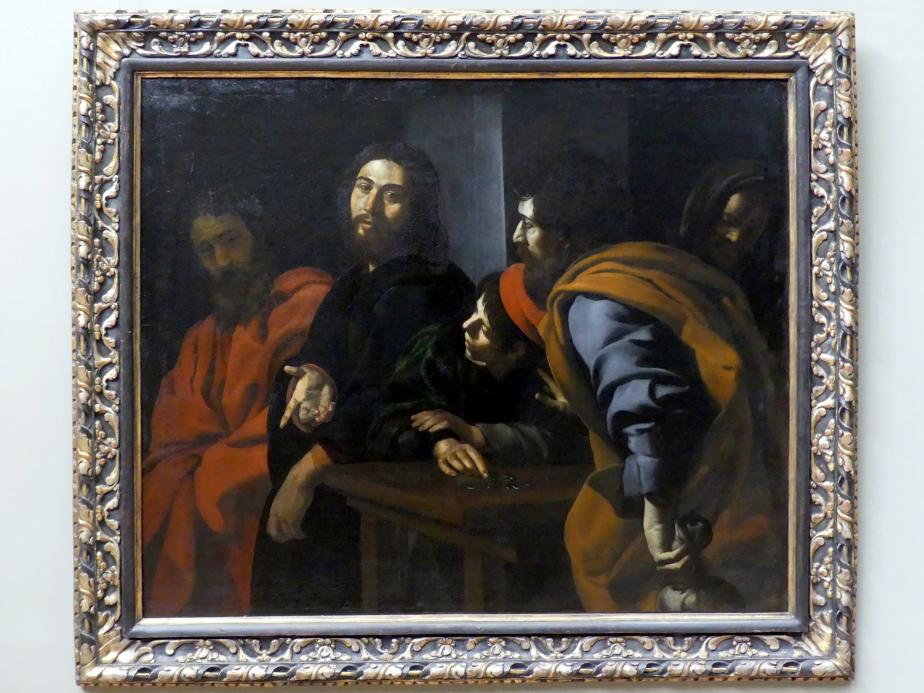 Giovanni Battista Caracciolo (Battistello): Berufung des Apostels Matthäus, um 1625 - 1630