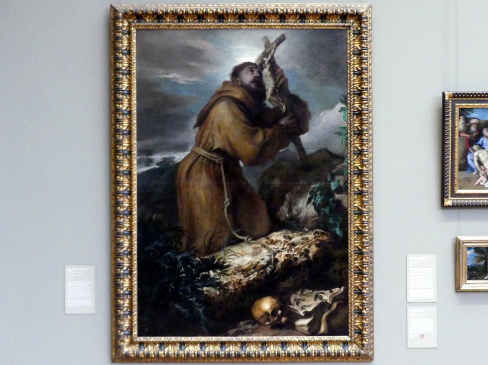 Giovanni Benedetto Castiglione (il Grechetto): Hl. Franziskus in Ekstase, um 1650