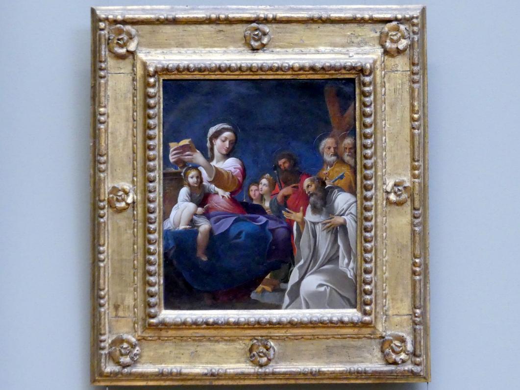 Ludovico Carracci: Maria mit Kind und Heiligen, 1607