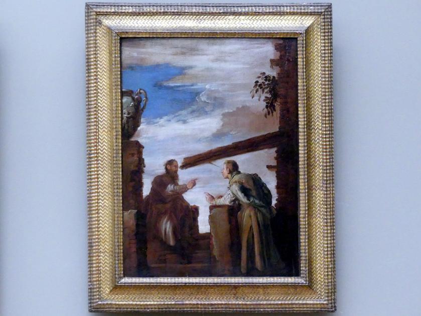 Domenico Fetti: Gleichnis vom Splitter und vom Balken, um 1619