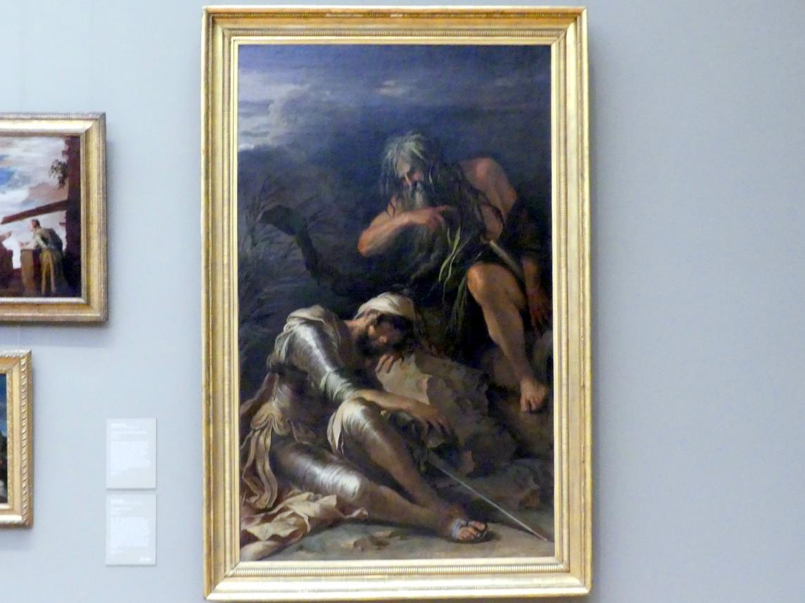 Salvator Rosa: Der Traum des Aeneas, 1660 - 1665