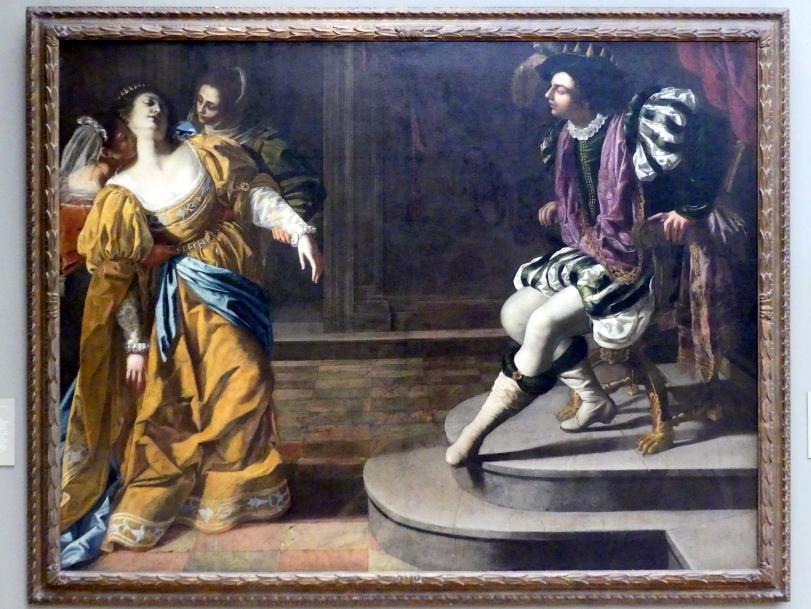 Artemisia Gentileschi: Esther vor Ahasver, Undatiert