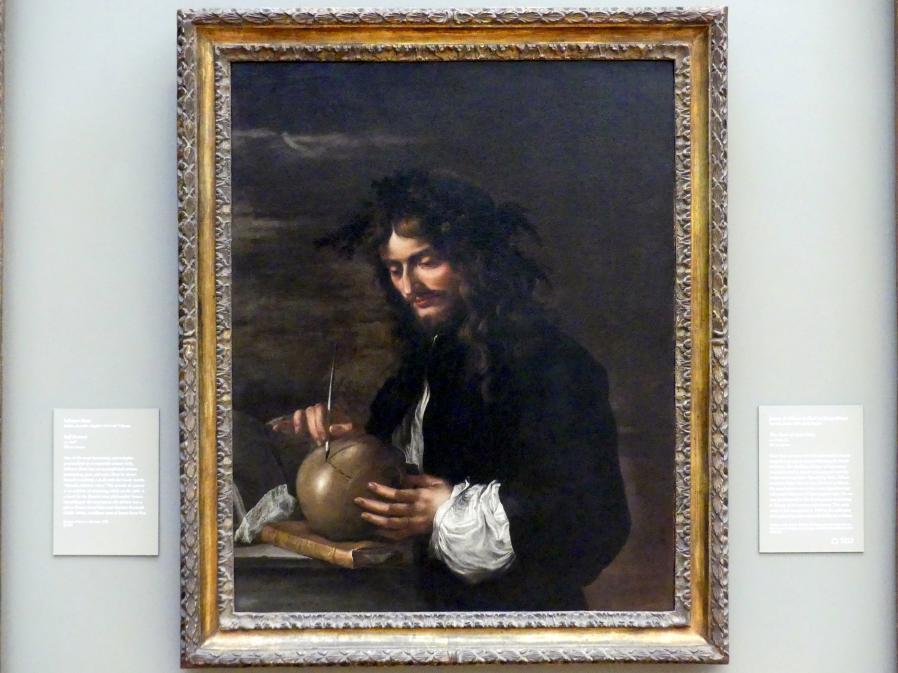 Salvator Rosa: Selbstporträt, um 1647