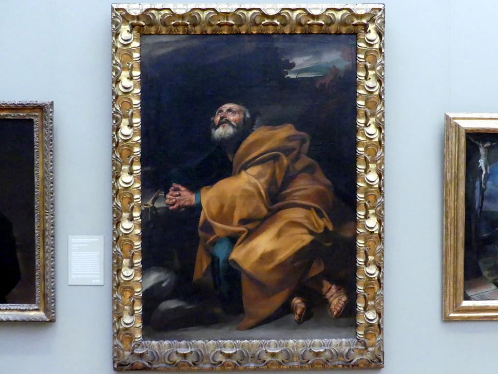 Jusepe de Ribera: Die Tränen des heiligen Petrus, um 1612 - 1613