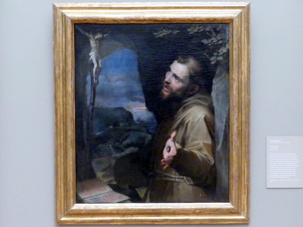 Federico Barocci: Hl. Franz von Assisi, um 1600 - 1604